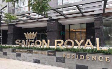 Cho thuê căn hộ Saigon Royal quận 4