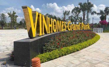 Bảng giá cho thuê shophouse Vinhomes Grand Park quận 9