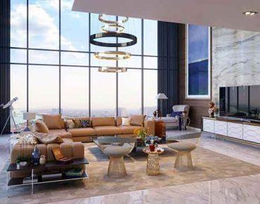 Căn hộ Penthouse là gì? - Thiết kế bên trong căn hộ Penthouse.