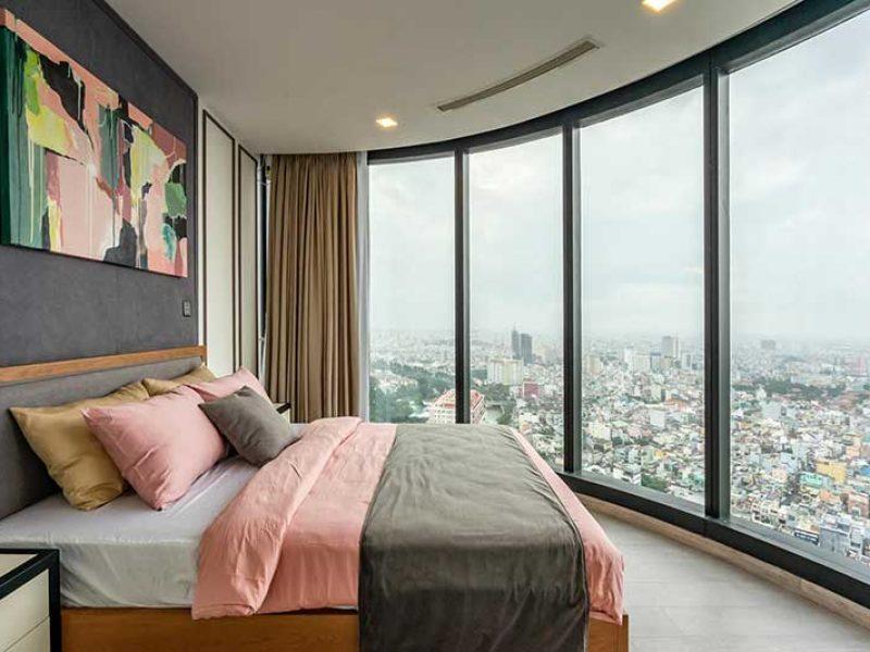 Phòng ngủ cho thuê căn hộ vinhomes central park
