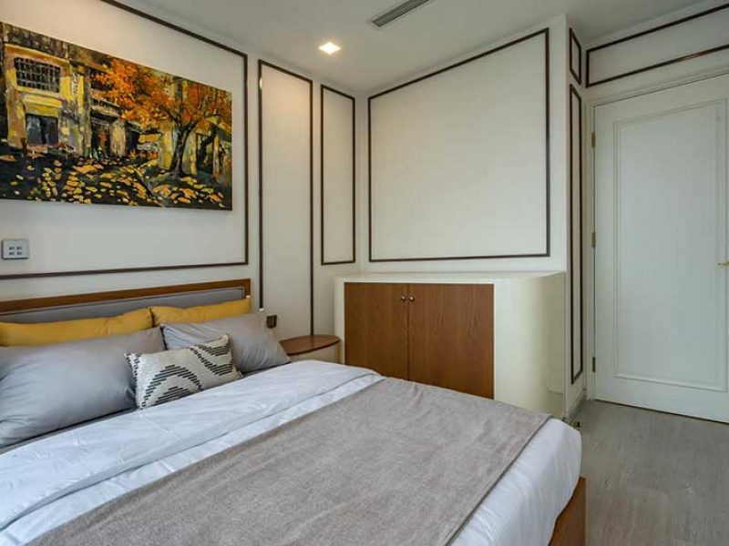 Phòng ngủ cho thuê căn hộ vinhomes