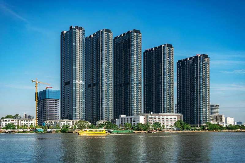 Tổng thể dự án căn hộ Vinhomes Golden River Ba Son