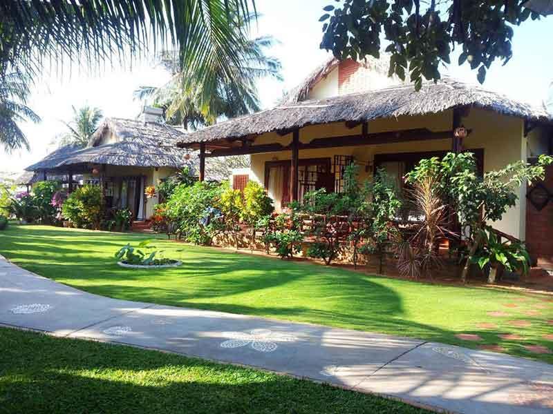 Bungalow thường được xây dựng ở các resort, khu nghĩ dưỡng
