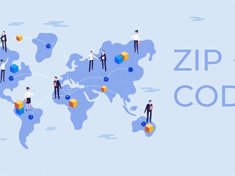 Zip code có tác dụng xác định địa chỉ nhận bưu phẩm chính xác từ nhiều quốc gia khác nhau