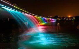 Ngằm nhìn phong cảnh tuyệt đẹp của những dải nước đầy màu sắc
