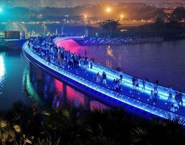Cầu Ánh Sao quận 7 - Kinh nghiệm đi cầu ánh sao