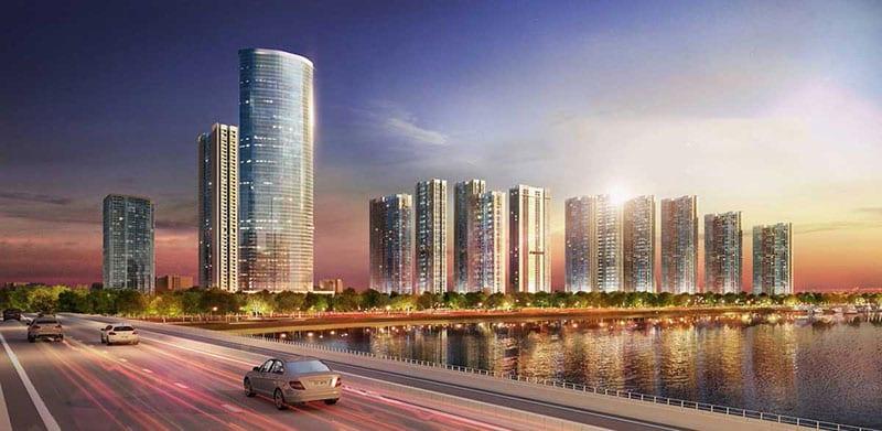 Phối cảnh tổng thể dự án Masterise Marina One quận 1