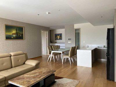 Nội thất căn hộ Đảo Kim Cương 2 phòng ngủ 124m2