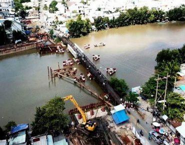 Cầu Long Kiểng sắp hoàn thành, dự án La Partenza hưởng lợi