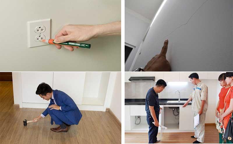 Kiểm tra căn hộ trước khi thuê