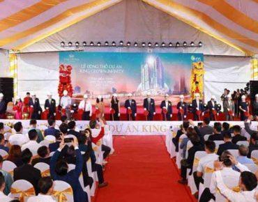 Lễ động thổ dự án King Crown Infinity 218 Võ Văn Ngân Thủ Đức